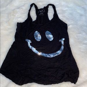 Sequin Smiley Tank